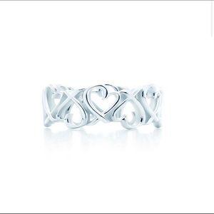 🛍 Tiffany & Co. Paloma Picasso Silver Hearts Ring